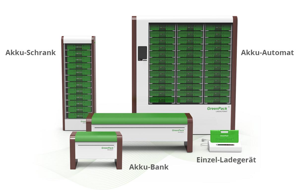 GreenPack-Speicher-Familie