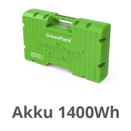 GreenPack Akku 1400Wh (Li-Ion)