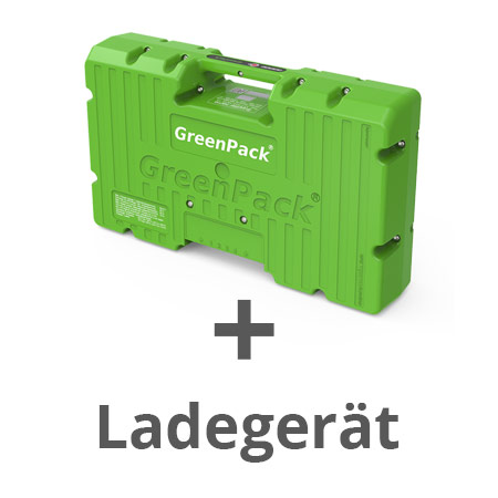 GreenPack Akku & Ladegerät