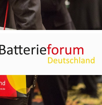 Batterieforum Deutschland 6.-8.April 2016 Berlin