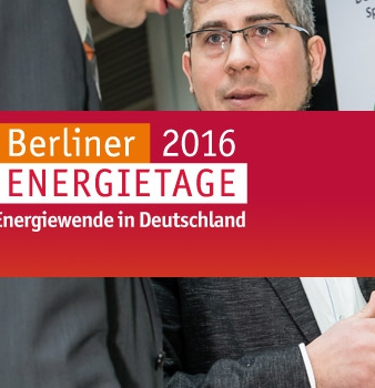 Berliner Energietage 2016 , 11.-13.April 2016