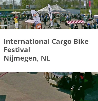 International Cargo Bike Festival 2016 Nijmegen,NL