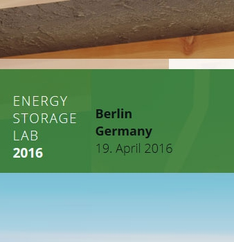 Energy Storage Lab 2016 – Berlin