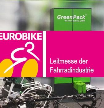 GreenPack Akku auf der Eurobike 2016