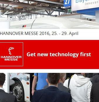 Hannovermesse 2016 – Sonderschau MobiliTec 2016