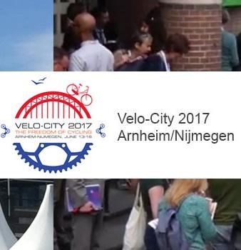 VeloCity 2017 in Arnheim/Nijmegen (NL)