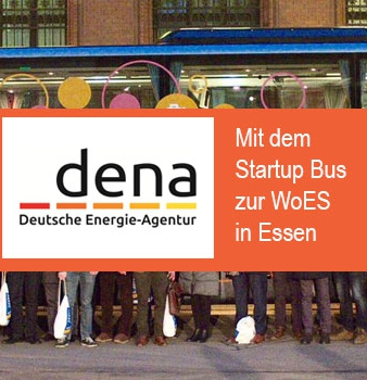 Mit dem Dena Startup Bus auf die World of Energy Solutions