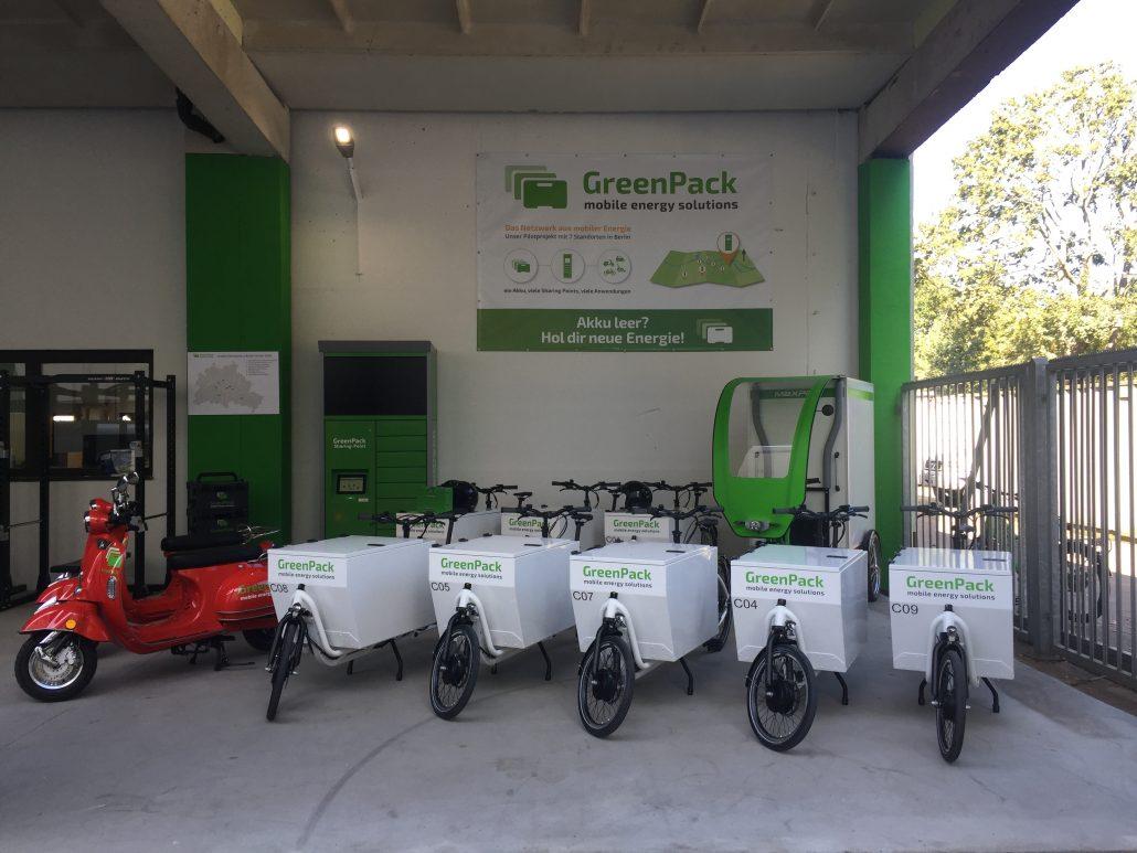 Greenpack Mobile Energy Solutions Standard Wechsel Akkus Fuer